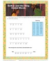 Children's Bible Activity - Esther and the King Coded Words