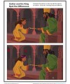Children's Bible Activity - Esther and the King Spot the Differences