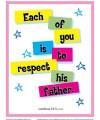Leviticus 19:3 Sunday School Scripture Page