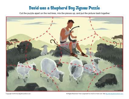 David Was a Shepherd Boy Jigsaw