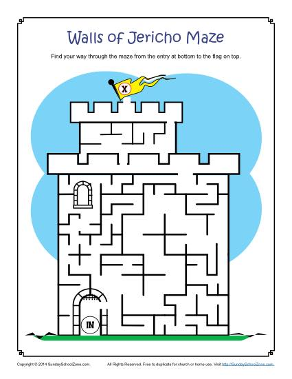 Types Of Free Printable Bible Activities For Kids On Sunday School Zone