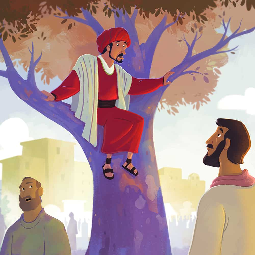 Jesus Ate with Zacchaeus Children 39 s