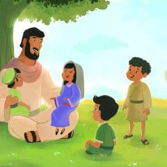 Jesus and the Children Bible Lesson for Older Preschoolers