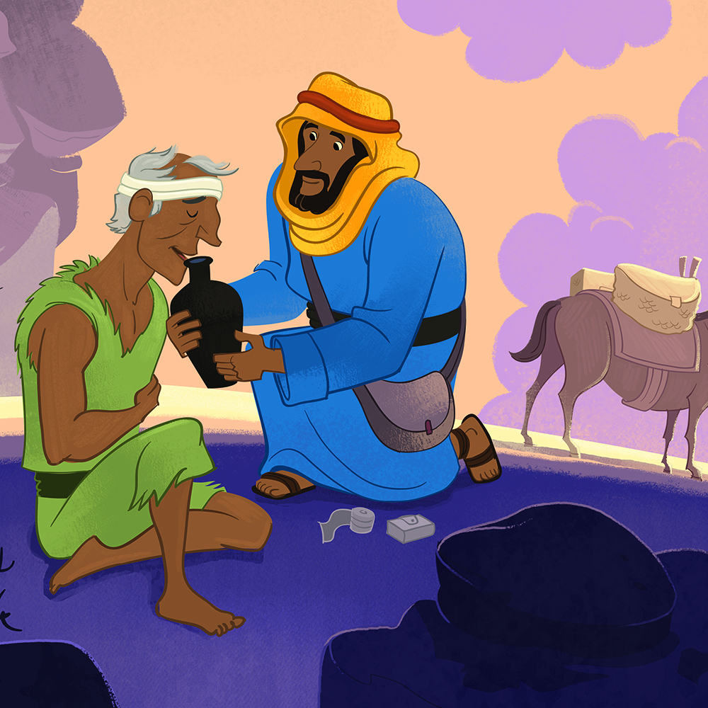 The Parable of the Good Samaritan Bible Lesson for Children - Children ...