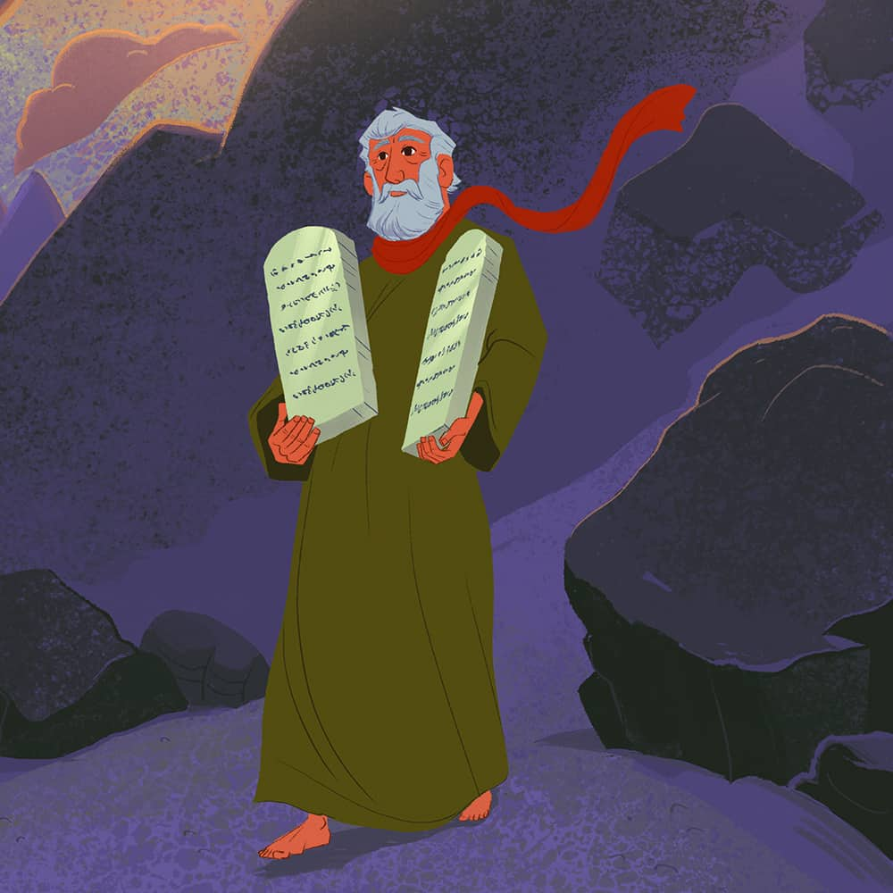 God Gave Moses His Laws Teaching