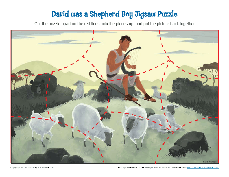 David Was a Shepherd Boy Jigsaw