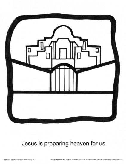 Free Printable Sunday School Coloring Pages Display Collection Of ... | 546x422