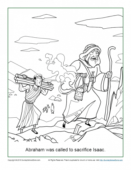 Abraham Coloring Pages | Printable Bible Sheets for Kids
