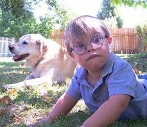 Down Syndrome Boy Cropped