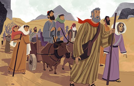 God S People Wandered In The Wilderness Story Summary
