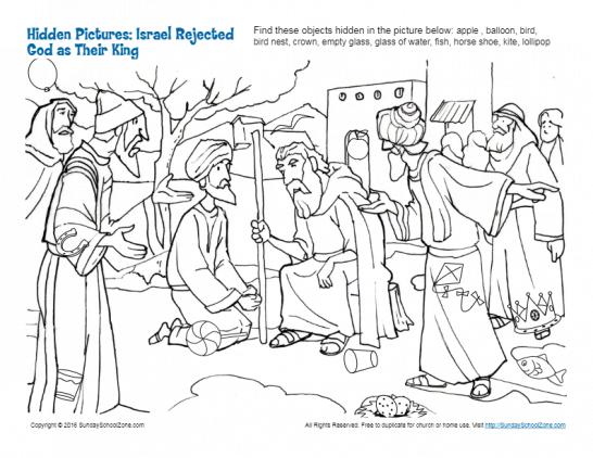 Hidden Picture Puzzles Bible Lesson Activities For Children