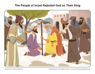 Israel Rejected God as Their King Sermon Picture - Children's Bible