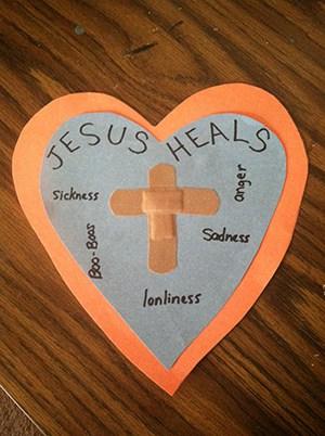 Jesus Healed a Royal Officials Son Bible Craft Children