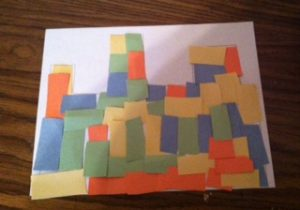 When The Walls Are Complete Instruct Kids To Flip Their Paper Over And Use Remainder Of Rectangles Create What Jericho Would Have Looked