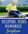 Helping Kids Memorize Scripture