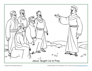 This is a graphic of Gargantuan Jesus And Disciples Coloring Page