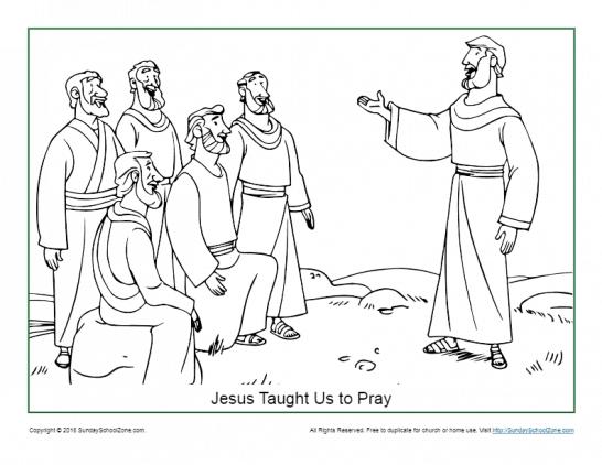 Bible Coloring Page - Boy Praying | Jesus coloring pages, Bible ... | 422x546
