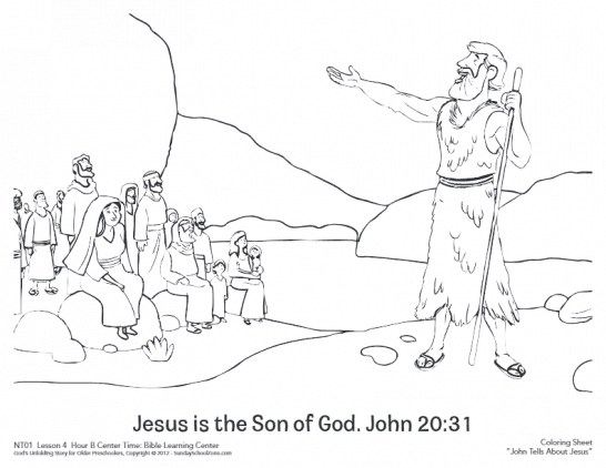 Bible Coloring Pages for Kids   Bible Story Printables