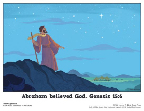 Genesis 15 Archives - Children's Bible Activities | Sunday School