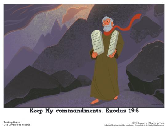 Exodus 19 Archives - Children's Bible Activities | Sunday School