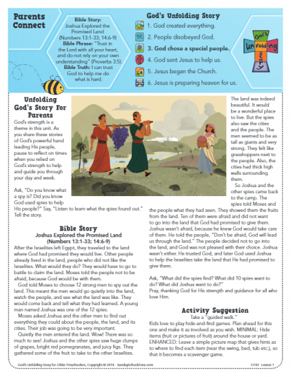 Caleb Archives - Children's Bible Activities | Sunday School