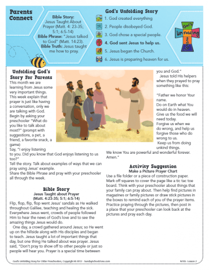 Jesus Taught About Prayer Archives - Children's Bible