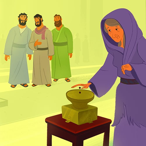 In Mark 12 41 44 Observed A Poor Widow Depositing Two Small Coins Into The Temple Treasury Said Her Gift Outweighed Gifts Of Those Who