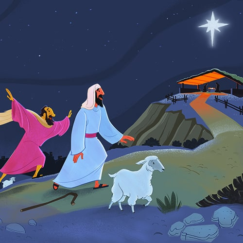 Shepherds Visit Jesus Free Bible Activities On Sunday School Zone