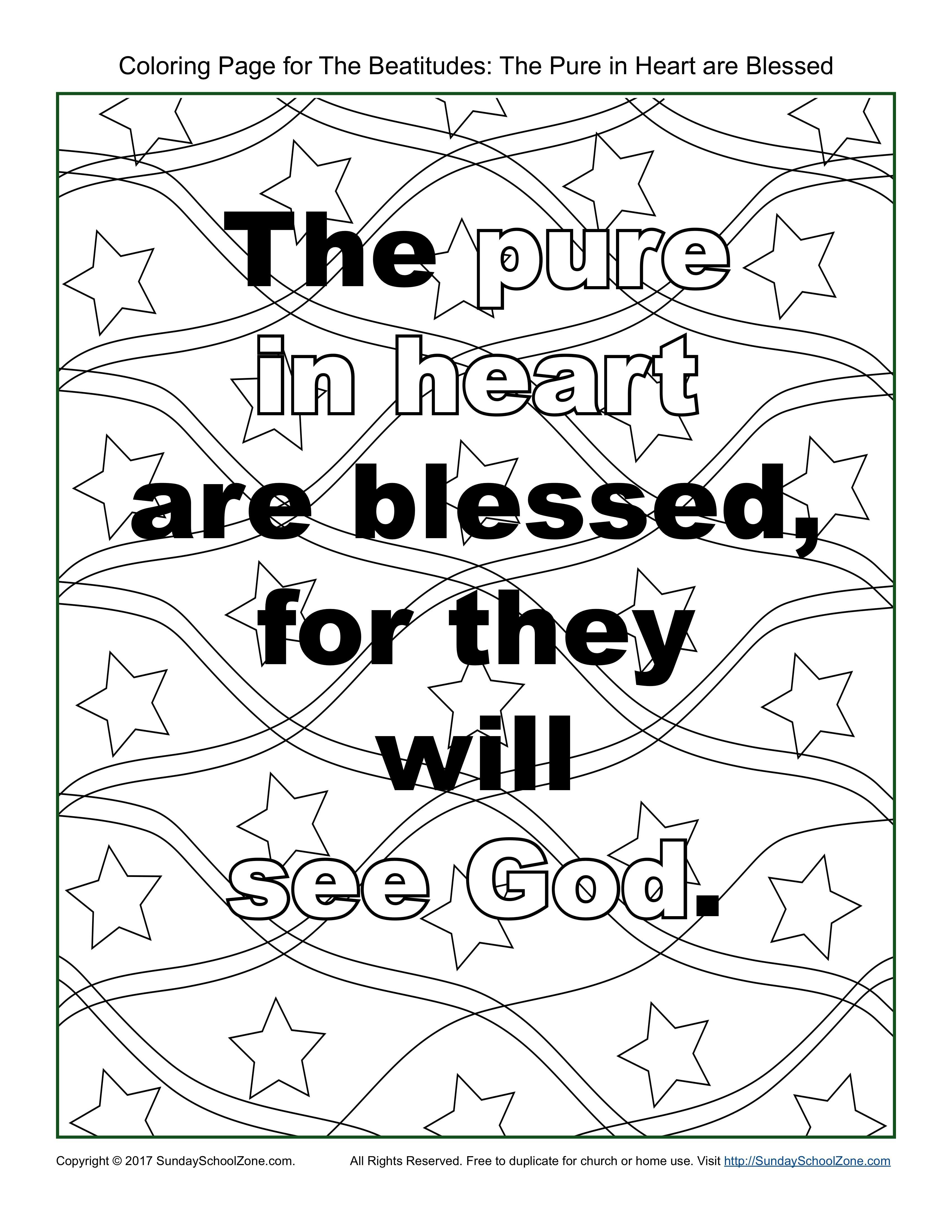 Pure In Heart\