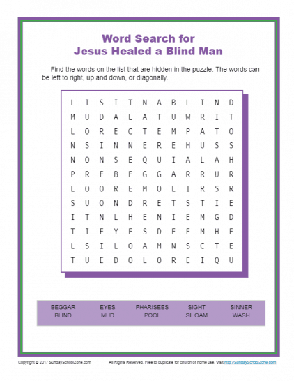 picture regarding Printable Children's Bible Word Search Puzzles named Free of charge, Printable Bible Phrase Appear Routines upon Sunday