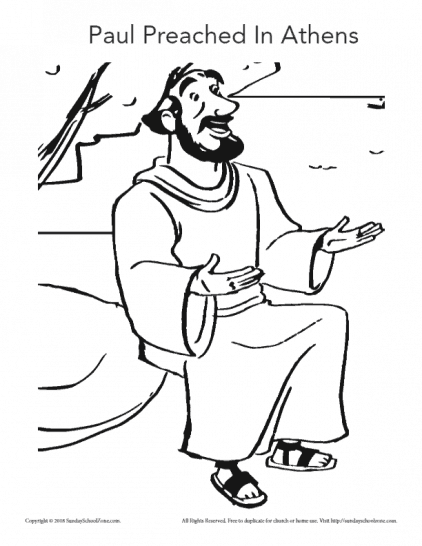 Free Apostle Paul Coloring Pages, Download Free Clip Art, Free ... | 546x422