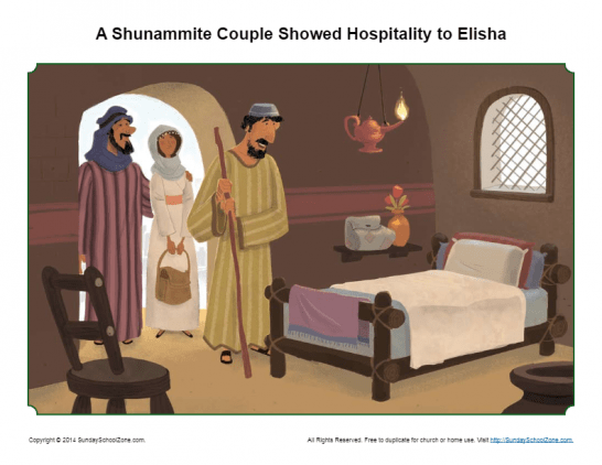 Elisha Archives - Children's Bible Activities | Sunday School
