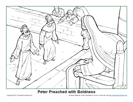 John The Apostle Archives Children's Bible Activities Sunday Rhsundayschoolzone: Bible Coloring Pages Peter And John At Baymontmadison.com