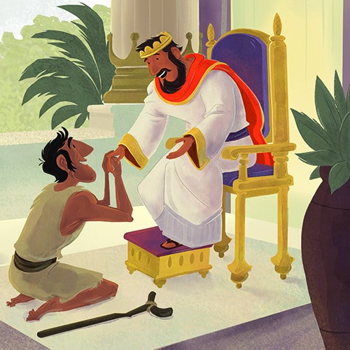 David and Mephibosheth Bible Activities on Sunday School Zone