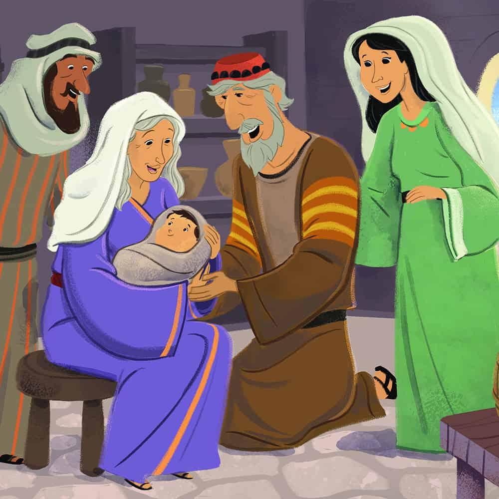 Free Birth Of John The Baptist Bible Activities On Sunday School Zone