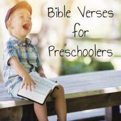 80 Preschool Bible Verses